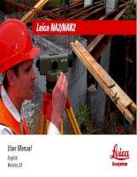 leica user manual english version 2 0
