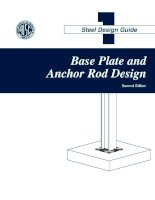 aisc design guide 1 - column base plates - 2nd edition