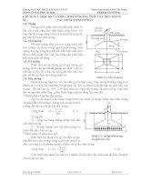 bài giảng nền và móng chương i một số vấn đề cơ bản trong thiết kế nền móng các khái niệm cơ bản