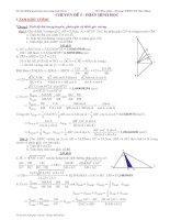 Chuyên đề MTCT hình học lop 9