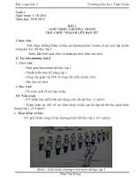Giáo án môn thể dục lớp 3 theo mô hình VNEN năm học 2013 2014 và 2014 2015