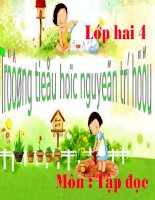 Tap doc lop 2:Ngoi truong moi