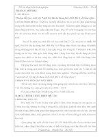 SKKN: Hướng dẫn học sinh lớp 7 giải bài tập áp dụng tính chất dãy tỉ số bằng nhau