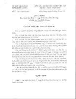 QĐ Ban hành Quy định về công tác thi đua, khen thưởng trên địa bàn tỉnh Kiên Giang
