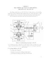 xây dựng quá trình công nghệ sửa chữa nhỏ hệ thống truyền lực xe atc-59