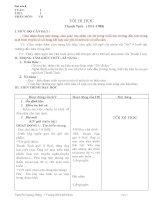 GIÁO ÁN NGỮ VĂN 8 (TUẦN 1-10)