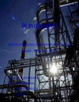 Đồ án công nghệ II đề tài mô phỏng tháp chưng cất và hệ thống thu hồi nhiệt của phân xưởng CDU nhà máy lọc dầu nghi sơn