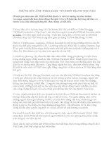 NHỮNG BỨC ẢNH 'WIKILEAKS' VỀ CHIẾN TRANH VIỆT NAM