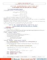 Giá trị LN-NN của các biểu thức lượng giác