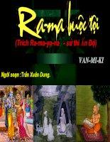 Ra-ma buộc tội (Trích Ra-ma-ya-na  -sử thi Ấn Độ ).
