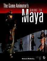 the game animator's guide to maya (2006)