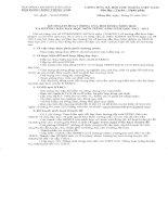 Kế hoạch hoạt động HĐBM tỉnh: Môn Tiếng Anh