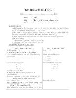 Giáo án Toán lớp 1 ,tuần 10