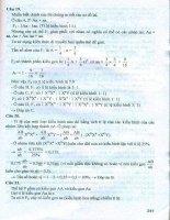 Bộ đề thi trắc nghiệm khách quan sinh học Phan Khắc Nghệ (phần 9.9)