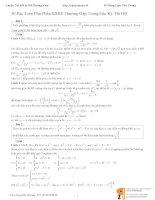 bài toán phụ( có lời giải chi tiết)
