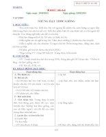 GIAO AN LOP 4 TUAN 5,6,7,8-2011