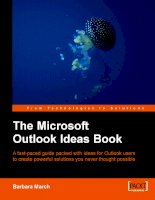 the microsoft outlook ideas book (2006)