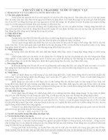 MỘT số CHUYÊN đề bồi DƯỠNG học SINH GIỎI môn SINH LỚP 11