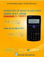 Hướng dẫn giải toán trên máy tính Casio