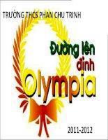 trò chơi đường lên đỉnh olypia