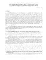 MỘT SỐ BIỆN PHÁP PHÁT HUY HIỆU QUẢ HOẠT ĐỘNG TỰ HỌC CỦA SINH VIÊN THÔNG QUA HỌC PHẦN DINH DƯỠNG TRẺ EM