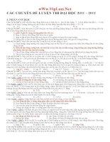 7 chuyên đề ôn thi ĐH môn Lý hay