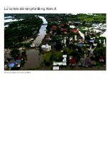 Pictures in flooded areas in Southeast Asia