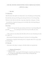 CHỦ ĐỀ DẠY HỌC THEO HƯỚNG PHÁT TRIỂN NĂNG LỰC HỌC SINH MÔN TOÁN, HÌNH 10