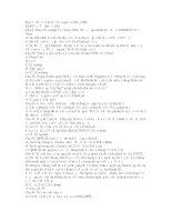 698 câu hỏi trắc nghiệm ôn tập Pháp luật đại cương (có đáp án)
