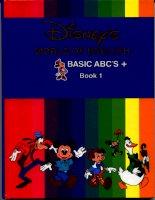 disney''s world of english books 01