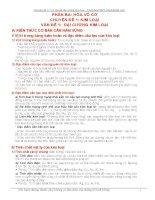 Chuyên 11 Lý thuyết về đại cương kim loại