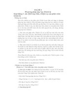Phương pháp dạy Tiếng Việt tiểu học phần 5
