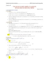 Ứng dụng tính đơn điệu của hàm số để giải phương trình, hệ phương trình