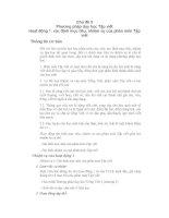 Phương pháp dạy Tiếng Việt tiểu học phần 4