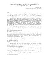 ĐÁNH GIÁ KHẢ NĂNG KHÁNG KHUẨN GÂY BỆNH TIÊU CHẢY Ở LỢN