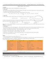 2011 - Lý thuyết anmin & amino axit - protein - peptit