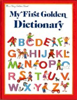 my first golden dictionary