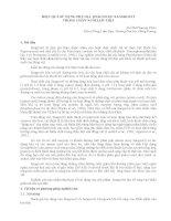 HIỆU QUẢ SỬ DỤNG PHỤ GIA THẢO DƯỢC SANGROVIT TRONG CHĂN NUÔI LỢN THỊT