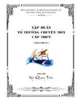 TAP HUAN TO TRUONG CHUYEN MON (NQT- DIA )