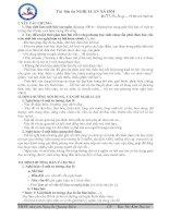Tài liệu ôn thi môn ngữ văn 12 phần nghị luận văn học