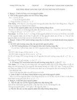 Phương Pháp giải bài tập về nguyên phân và giảm phân