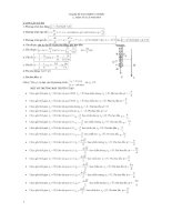 Lý thuyết và bài tập dao động cơ ôn thi đại học