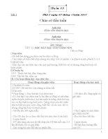 giáo án lớp 3 tuần 13 CKTKN GT(Hưng)