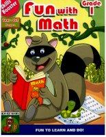 skills booster fun with math grade 1