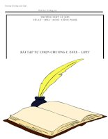 Luyện thi đại học hóa học   phân dạng bài tập chương este   lipit