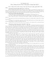 CÂU HỎI ÔN TẬP Môn: Những vấn đề cơ bản về Nhà nước và pháp luật XHCN_2014