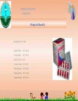 Báo cáo: kháng sinh macrolid