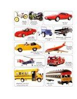 Học Tiếng Anh qua hình ảnh các phương tiện giao thông