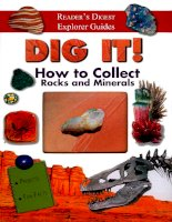 dig it how to collect rocks and minerals
