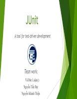 JUnit report UET n5 autumn 2013